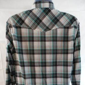 Helix Shirts - Helix Athletic Fit Shirt SIZE XL Mens Pearl Snap